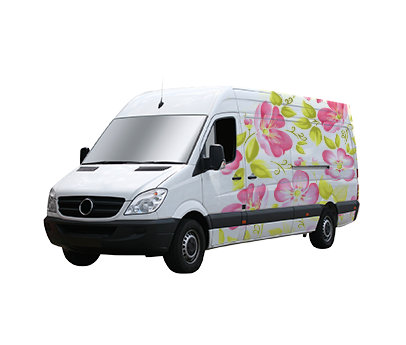 Flower Delivery Van