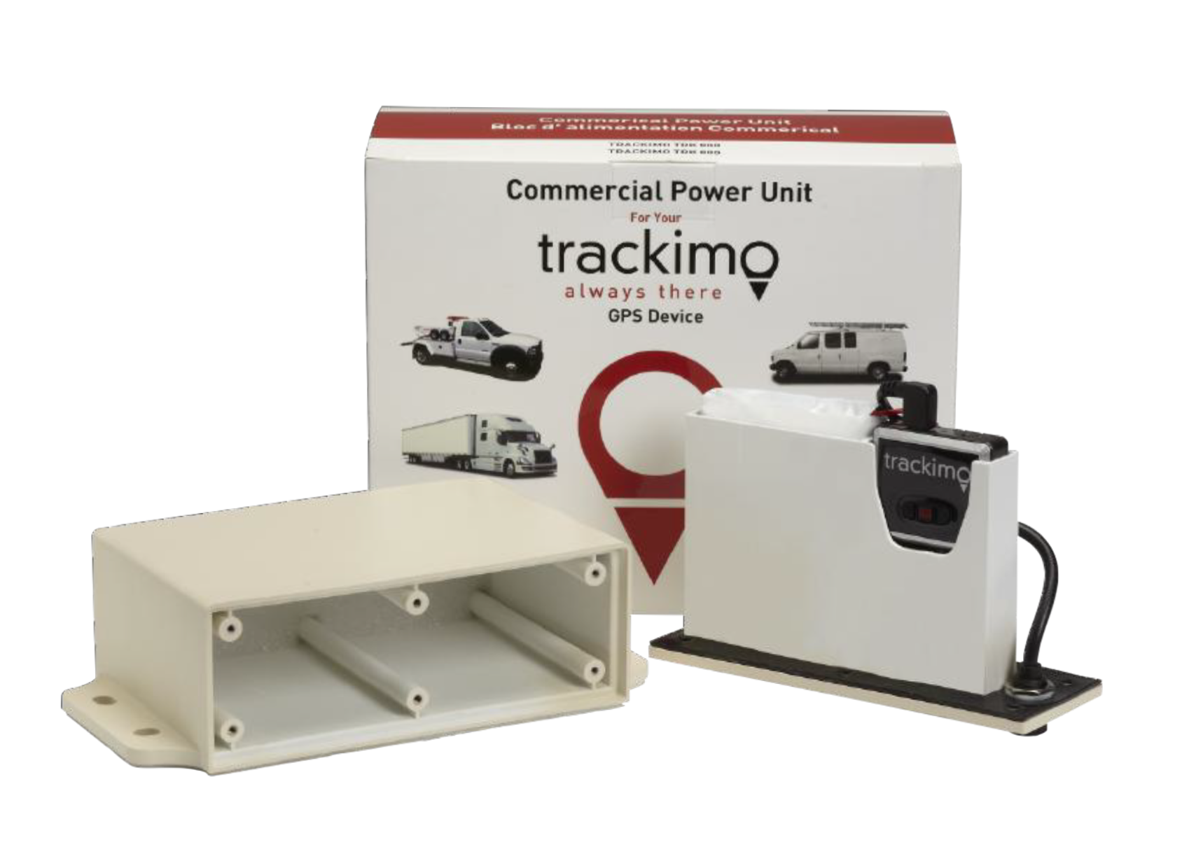 Trackimo commercial vehicle pack