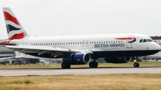 Drone Collision with British Airplane