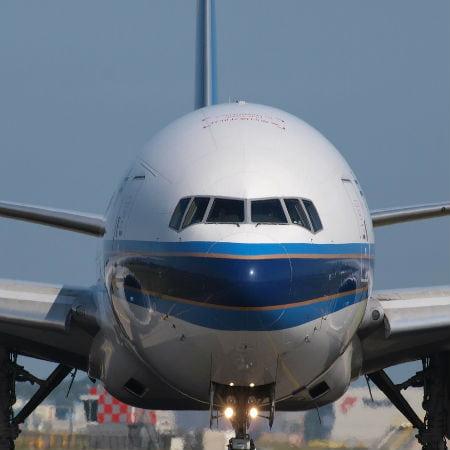 Boeing 777 Passenger Jet