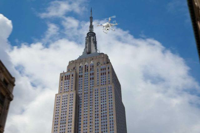 Crashing Drone