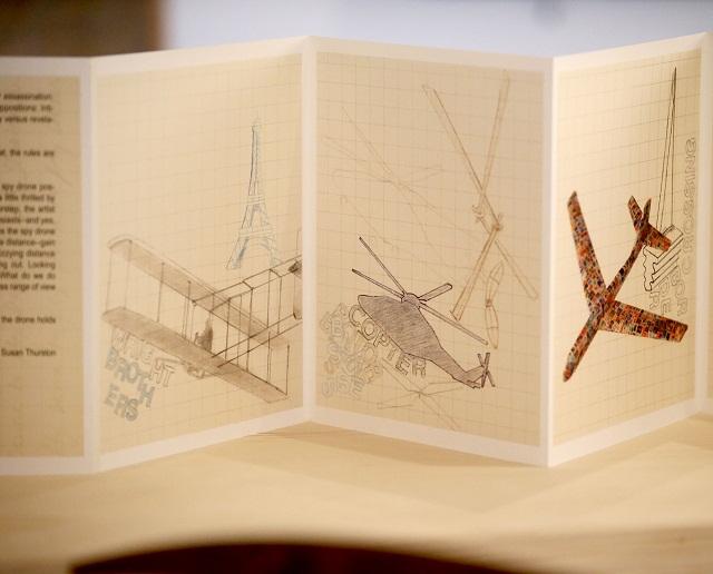 Da Vinci, Drones, and Hummingbirds Exhibit
