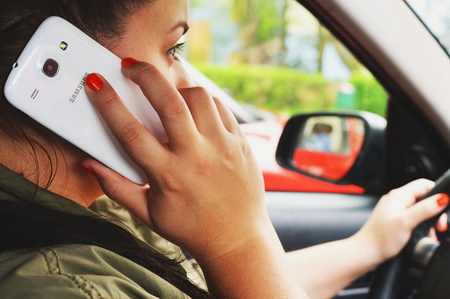 Driving with a Phone