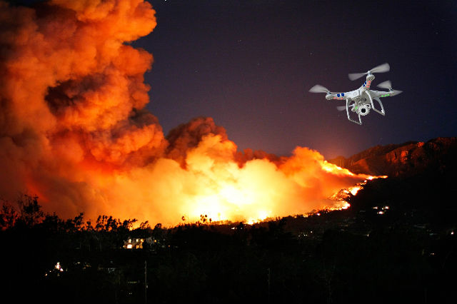 Drone Fire Fighter