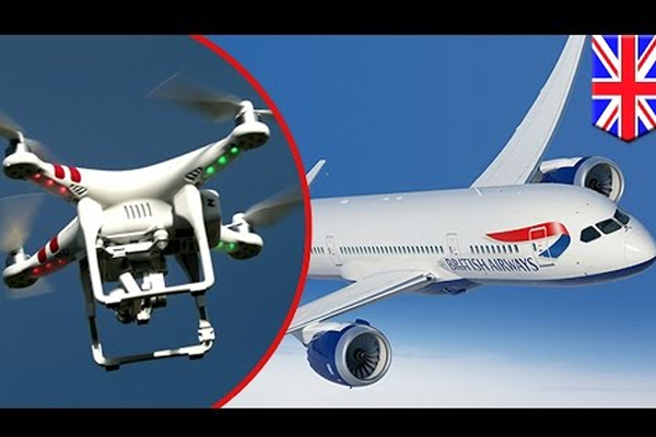 Drone Hits British Airways