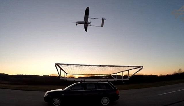 Drone Landing Net