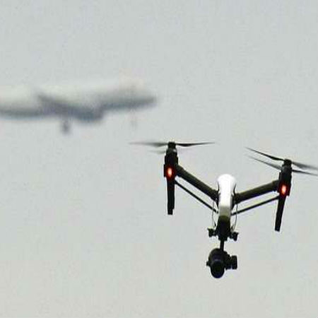 Drones Are Potential Threat to Commercial Flights