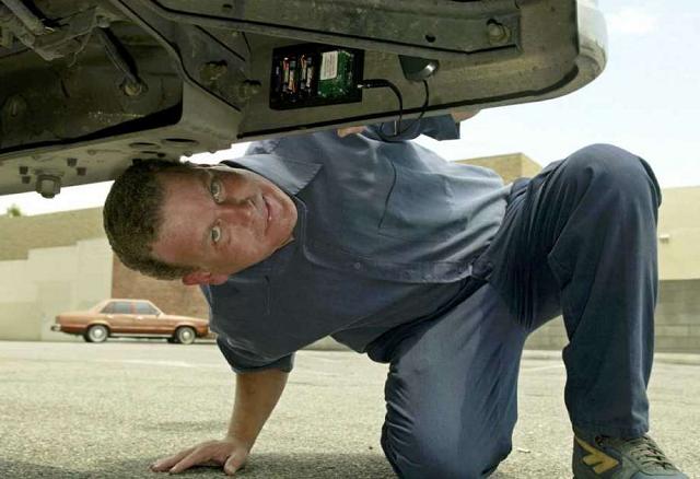 GPS Device on a Car