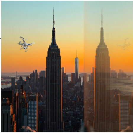 Drone Crashes at Empire State Building