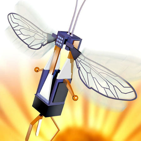 Robobee A Drone Designed to Perch and Save Energy