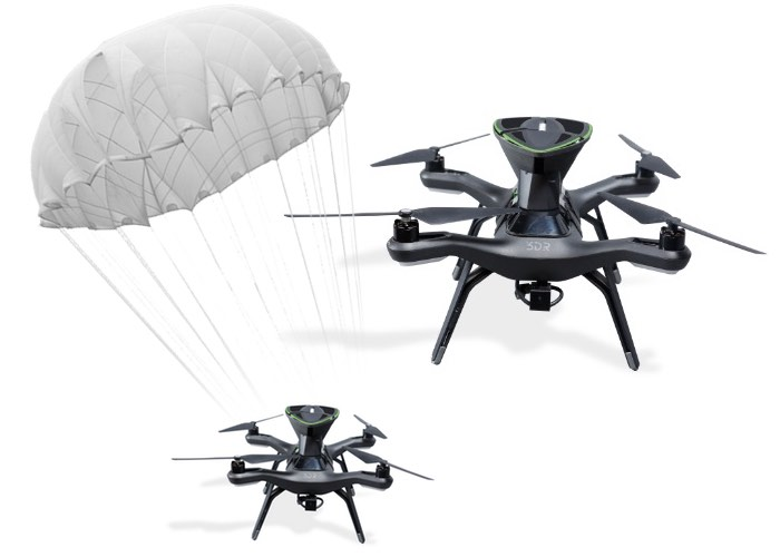 SafeAir-Drone-Parachute-Rescue-System