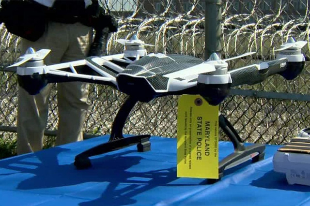 Using a Drone to Smuggle Drugs