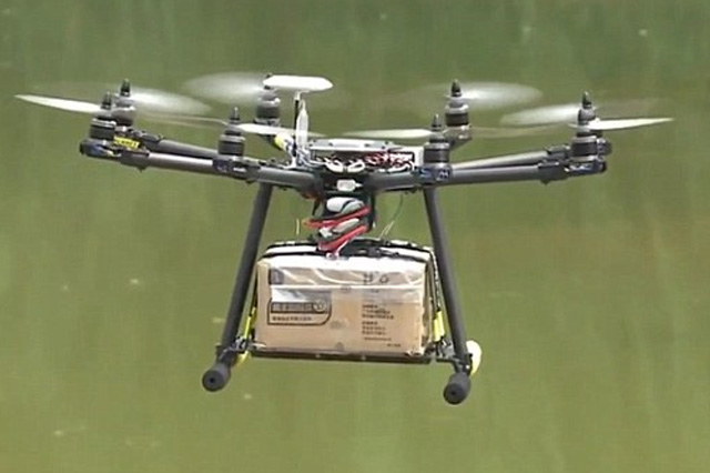 Drones Smuggling