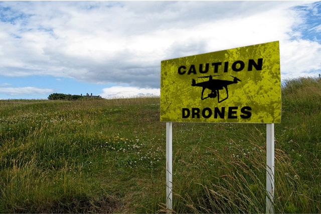 Drone Concern for Public Health and Safety