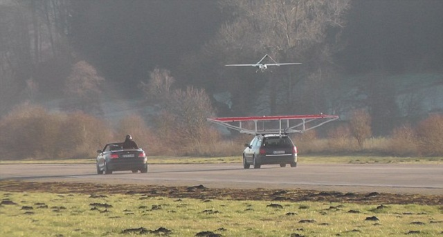 UAV Landing on a Car