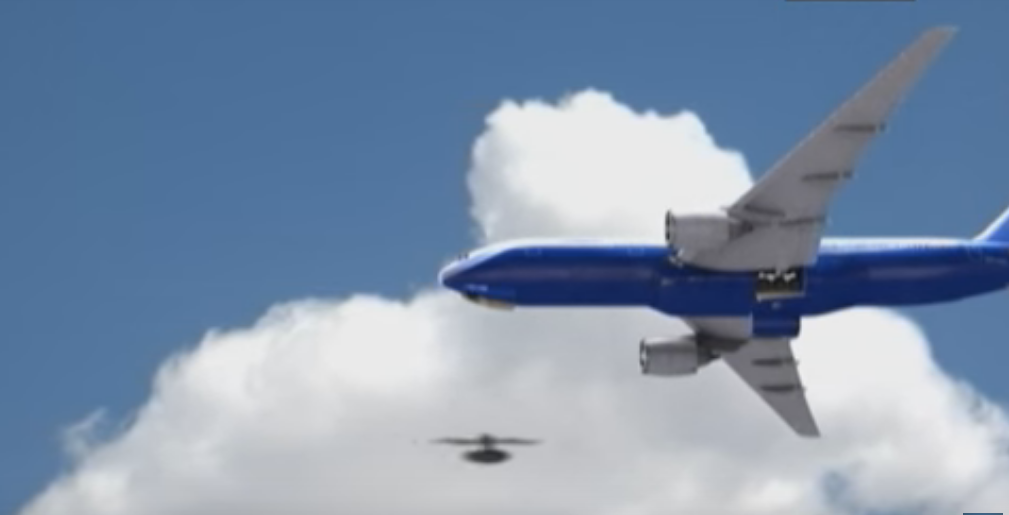Drone Almost Hits Airplane