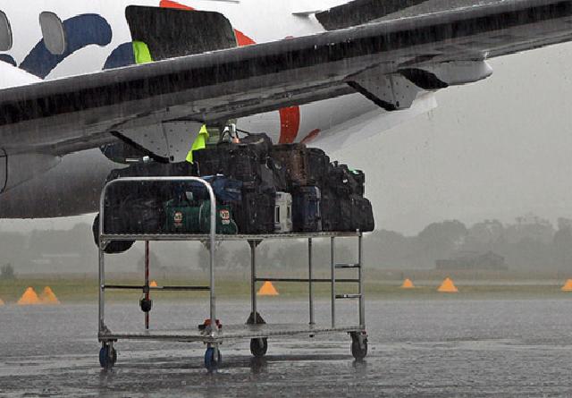Wet Luggage