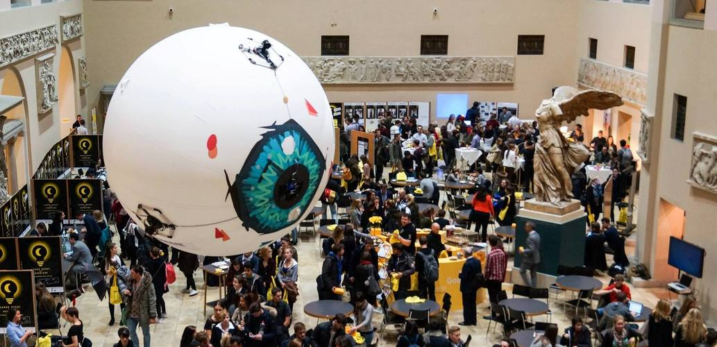 Aerotain's Giant Flying Eyeball Drone