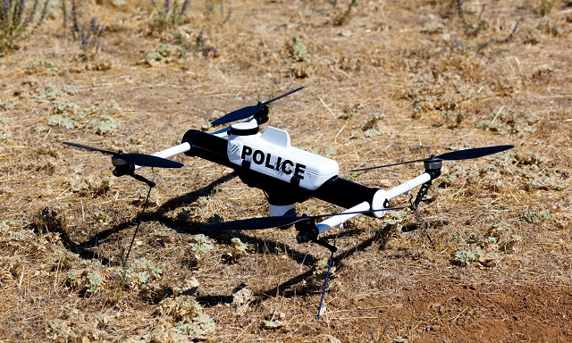Police Use Anti-Drone Technology