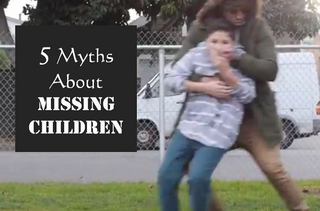 Myths About Missing Children
