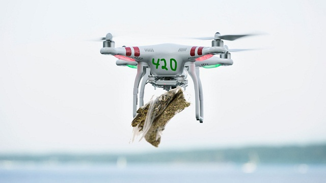 Cannabis-Delivery Drone