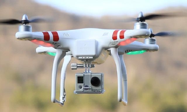 Trackimo gps programmable drone