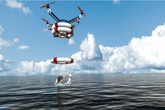 Drones for Search and Rescue