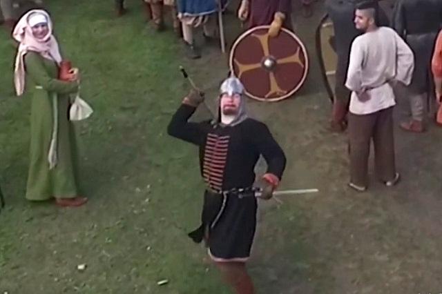 Drone Renaissance Faire