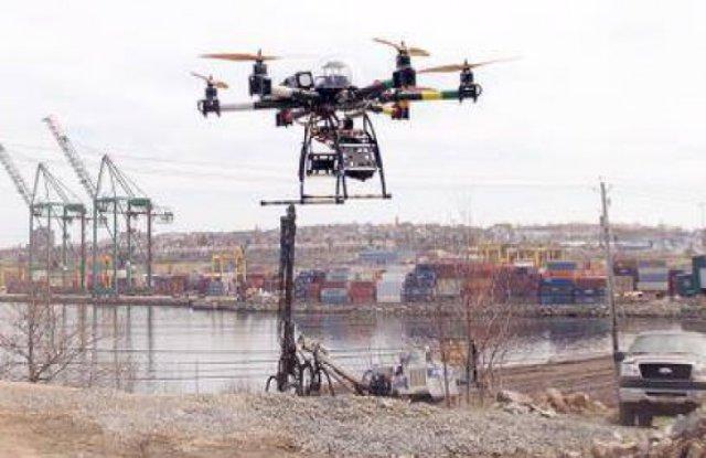 Drones to Survey Construction Site