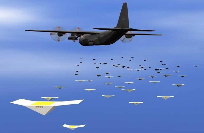 Swarming Drones