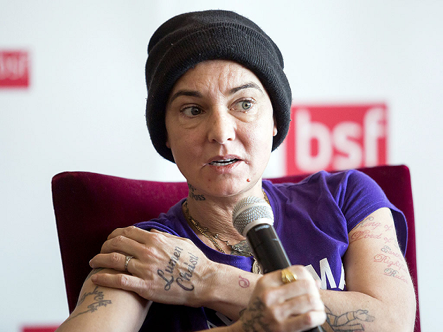 singer Sinead O'Connor