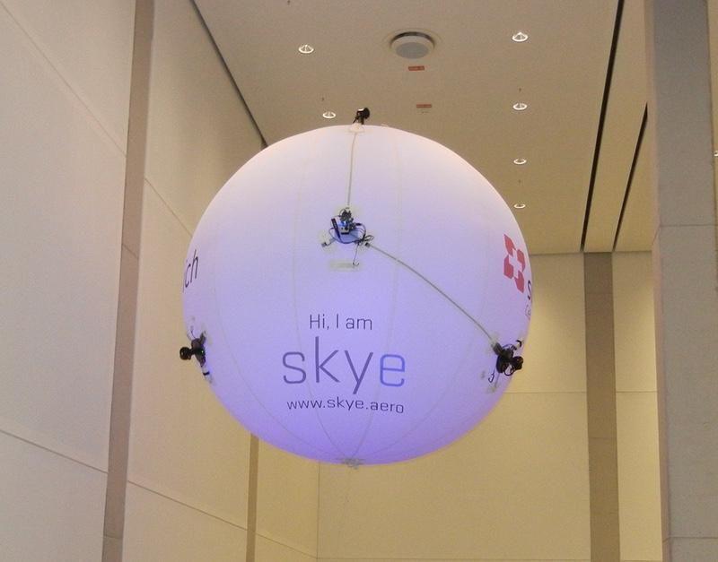 Blimp-Inspired Skye Drone
