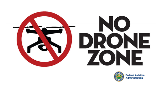 No Drone Fly Zone