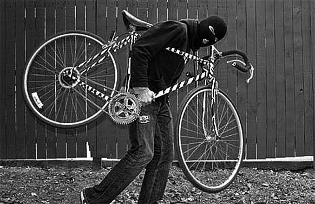 Stolen Bike in California