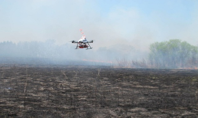 Drones Can Eradicate Fire