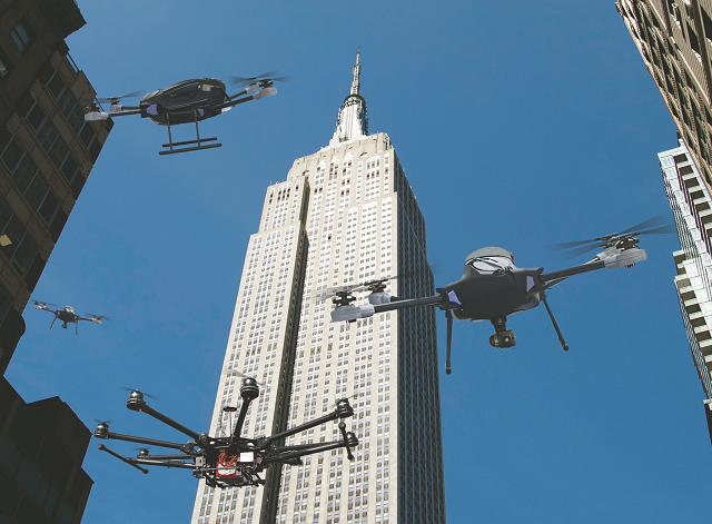 New York City Drones