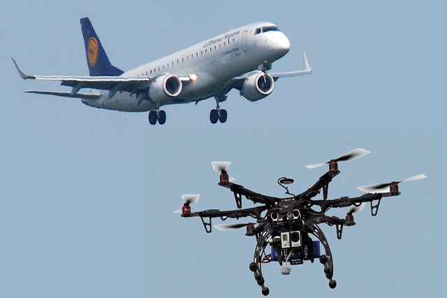Drones and Airplanes