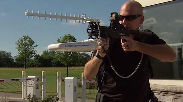 Anti-Drone Gun