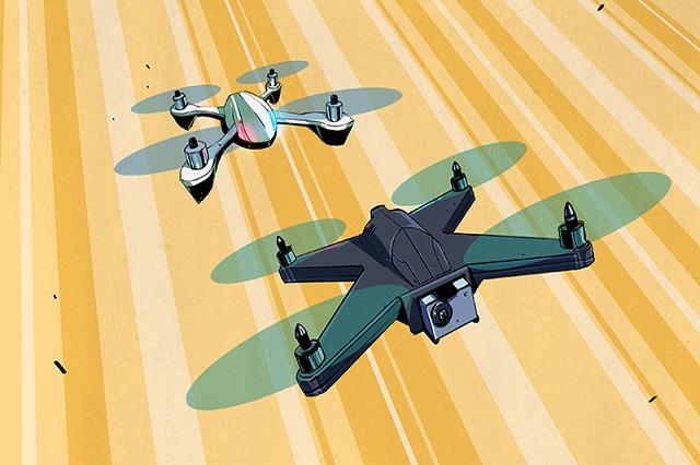 Trackimo  gps drone quadcopter