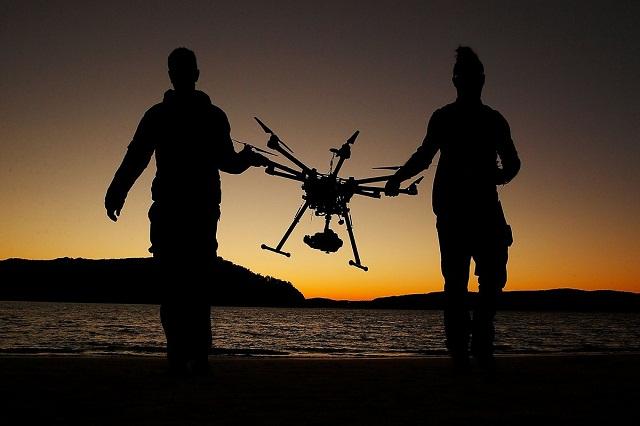 Trackimo gps guided drone
