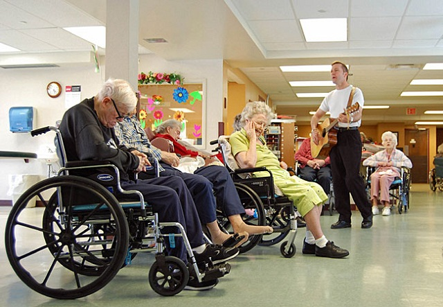 Serenading Older People