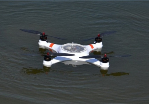 Water Damaged Drone