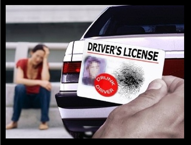 Confiscated Driver's License