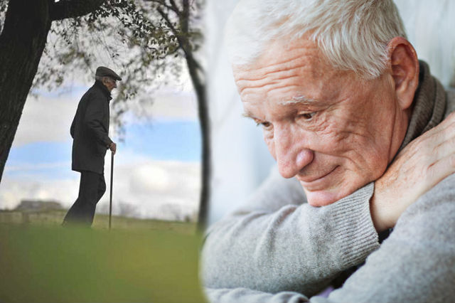 Wandering Old Man