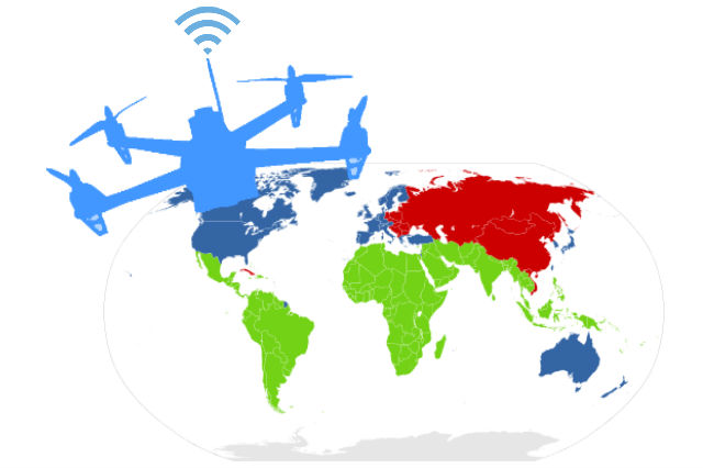 Deliver Internet to the Third World