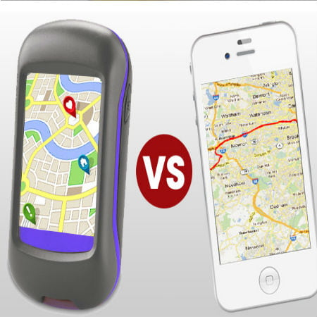 Difference Between Standalone GPS And Smartphone