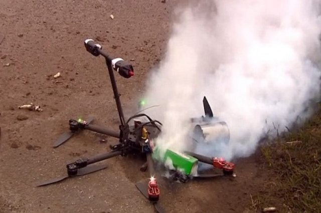 Drone Crash Down