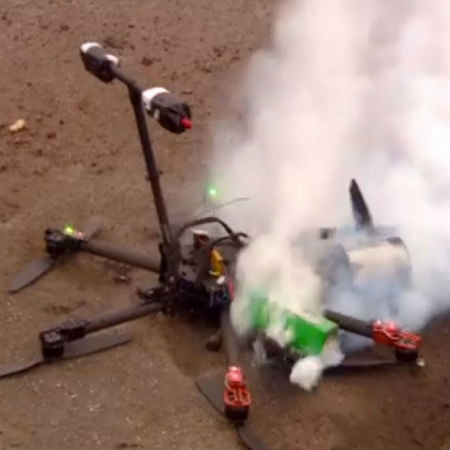 Drone Crashes in Manhattan