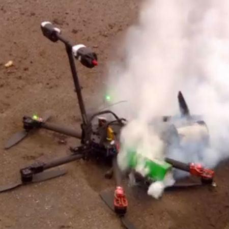 Drone Crashes in Manhattan