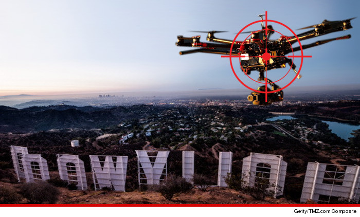 Drone Over Hollywood